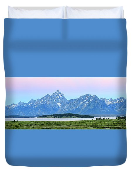 Spotless Sunrise Duvet Cover