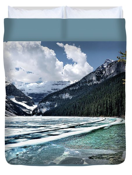 Thin Ice Duvet Cover