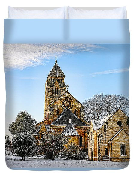 St. Edward Duvet Cover
