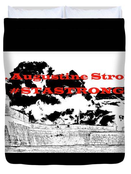 #stastrong Duvet Cover