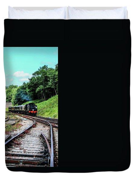 Steam Train Duvet Cover