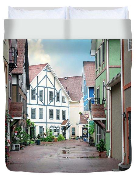Stoudtburg Village Duvet Cover