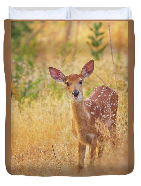 Summer Fawn Duvet Cover