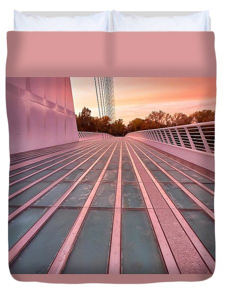 Sundial Bridge Duvet Cover