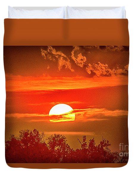 Sunset Duvet Cover by Pravine Chester