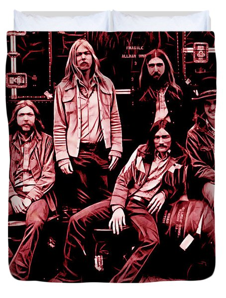 The Allman Brothers Collection Duvet Cover
