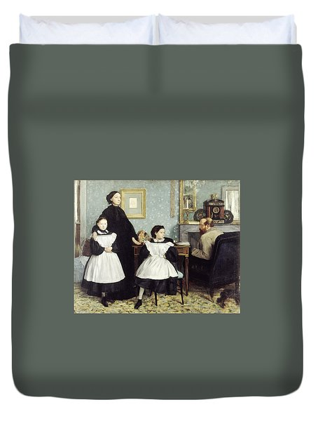 The Bellelli Family Duvet Cover by MotionAge Designs