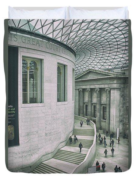The British Museum Duvet Cover
