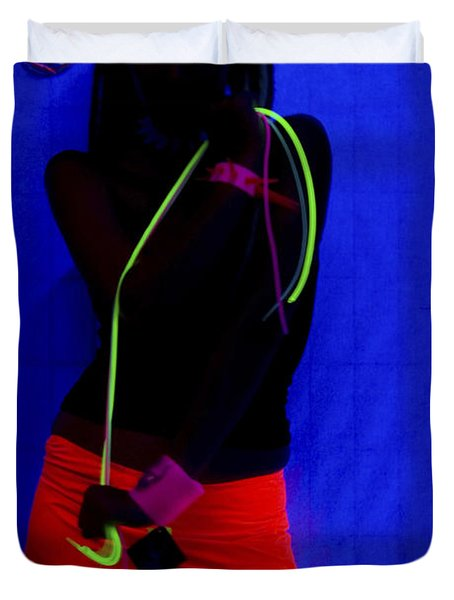 The Effects Of Uv On Reflective Clothing Duvet Cover