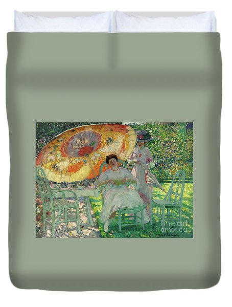 The Garden Parasol Duvet Cover