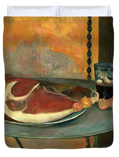 The Ham Duvet Cover