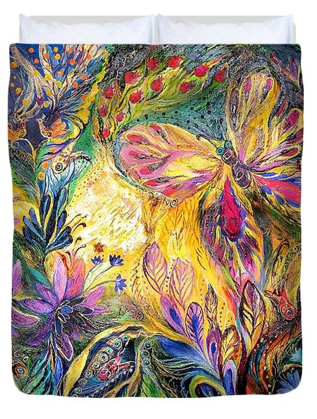 The Life Of Butterfly Duvet Cover by Elena Kotliarker