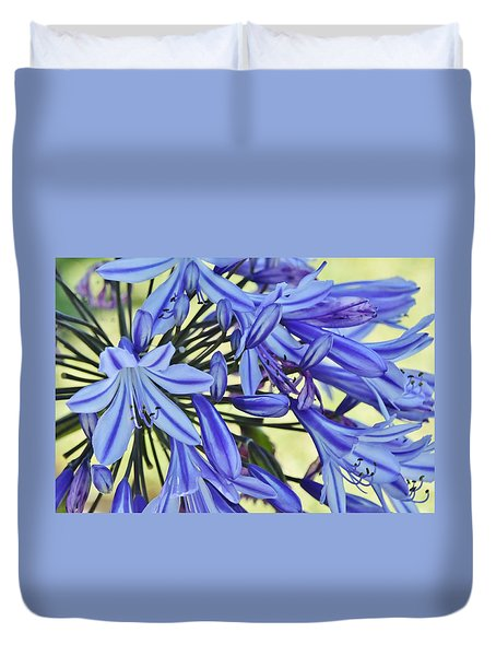 the lily of the Nile... Duvet Cover