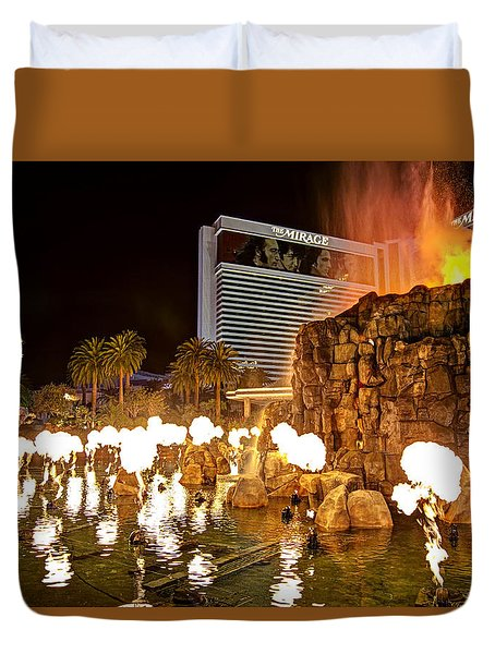 The Mirage Duvet Cover
