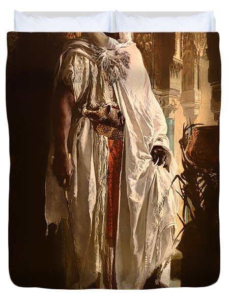 The Moorish Chief Duvet Cover by Mountain Dreams
