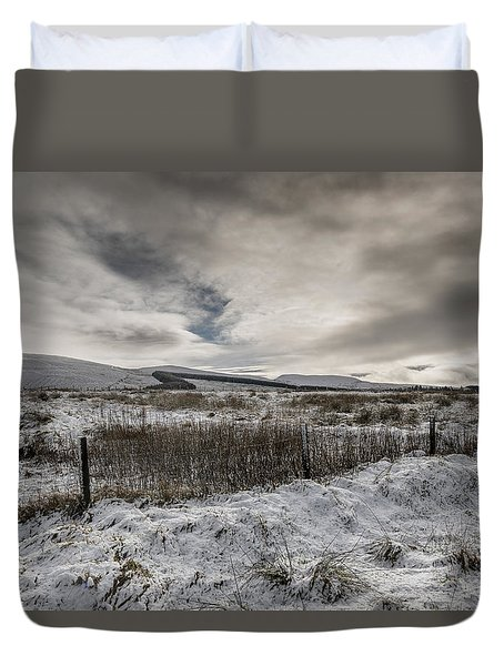 The Ochil Hills Duvet Cover
