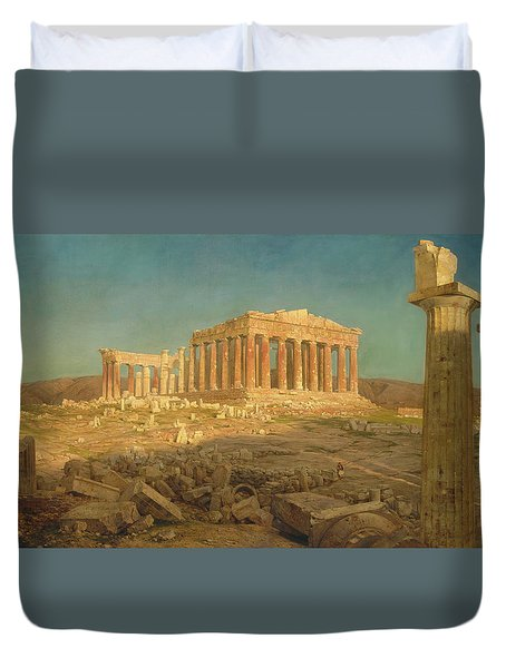 The Parthenon Duvet Cover