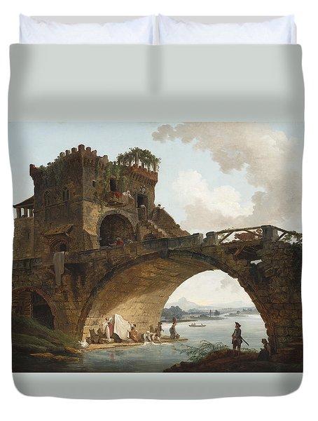 The Ponte Salario Duvet Cover
