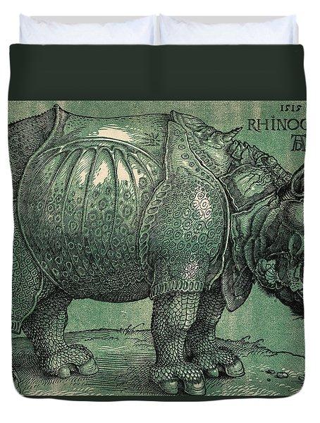 The Rhinoceros Duvet Cover