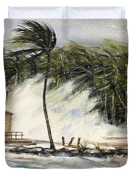 The Storm Duvet Cover