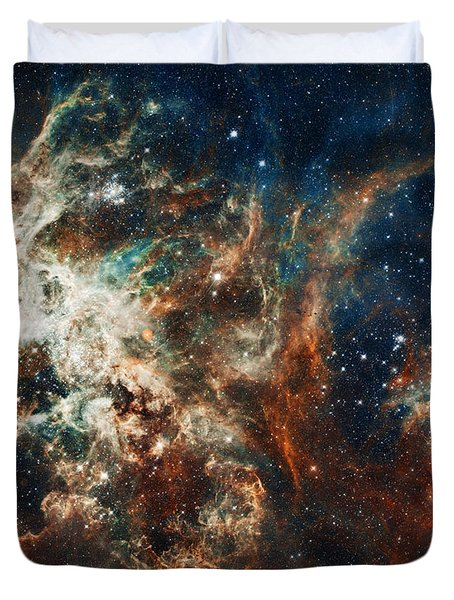 The Tarantula Nebula Duvet Cover