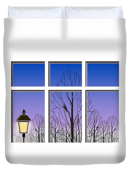 The Window Duvet Cover