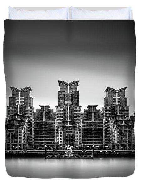 2 Time Winner Of The Worst Building In The World Award Duvet Cover