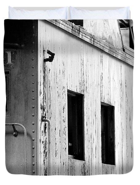 Train Duvet Cover by Sebastian Musial