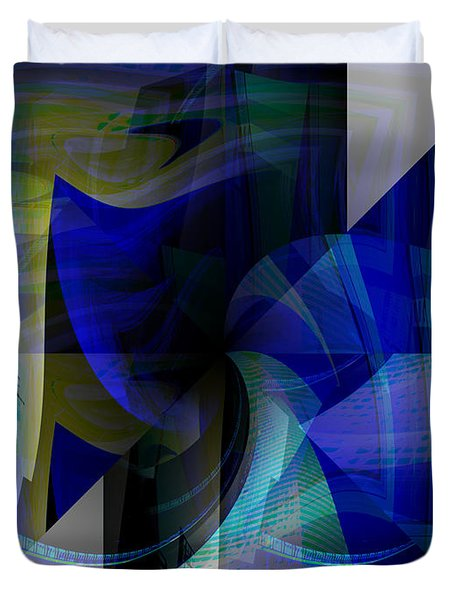 Transparency 4   Duvet Cover by Thibault Toussaint