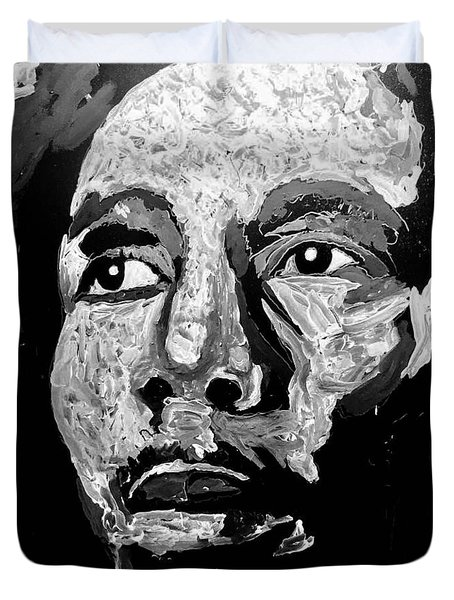 Tribute To Bob Marley Duvet Cover