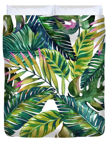 Tropical  Duvet Cover by Mark Ashkenazi