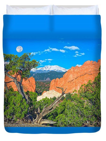Typical Colorado  Duvet Cover