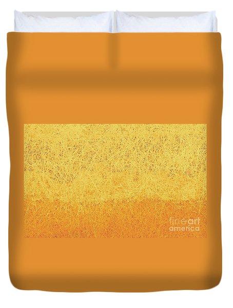 Utah Winter Sun Duvet Cover
