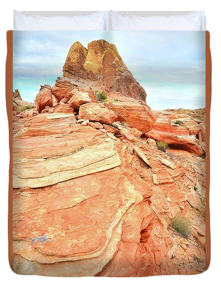 Valley Of Fire High Country Duvet Cover