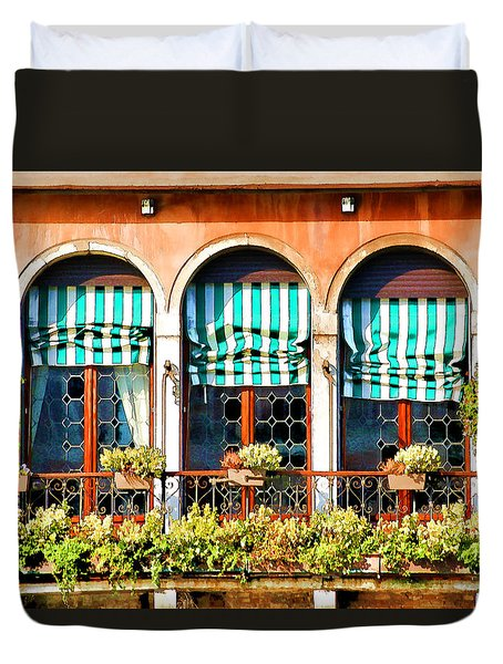 Venice Untitled Duvet Cover by Brian Davis