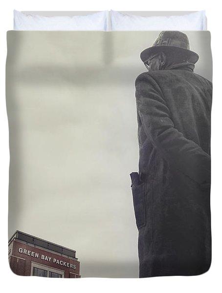 Vince Lombardi Duvet Cover