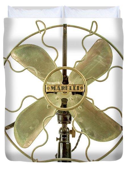 Vintage Fan Duvet Cover
