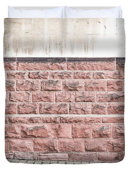 Wall Detail Duvet Cover