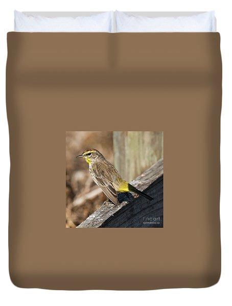 Warbler Duvet Cover