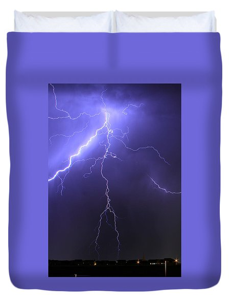 West Jordan Lightning 4 Duvet Cover