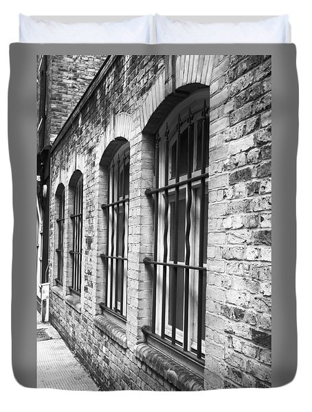 Window Bars Duvet Cover by Tom Gowanlock