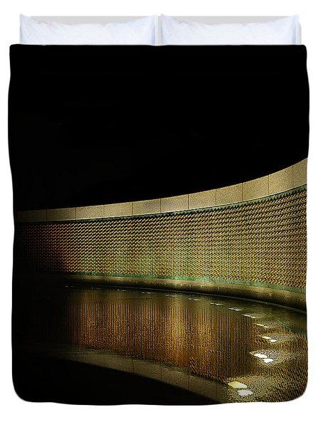 World War II Memorial - Stars Duvet Cover