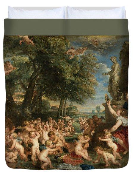 Worship Of Venus Duvet Cover