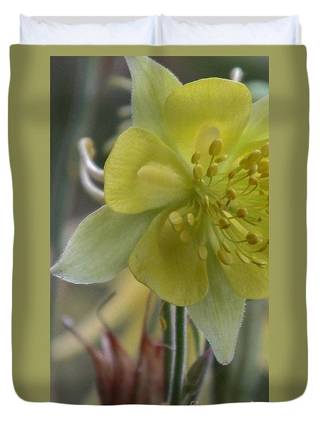 Yellow Flower 4 Duvet Cover