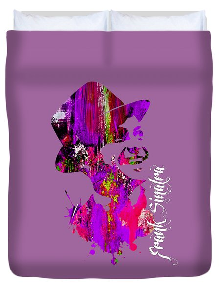 Frank Sinatra Collection Duvet Cover by Marvin Blaine