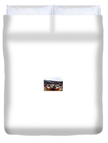 Heidelberg Duvet Cover