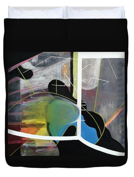 200 Percent Duvet Cover by Antonio Ortiz