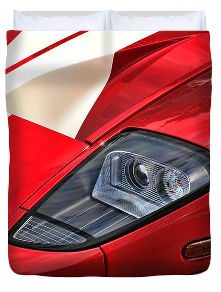 2004 Ford Gt Duvet Cover by Gordon Dean II