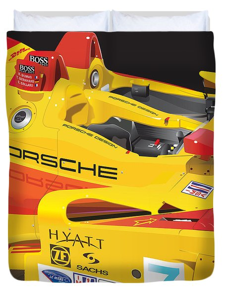 2008 Rs Spyder Illustration Duvet Cover