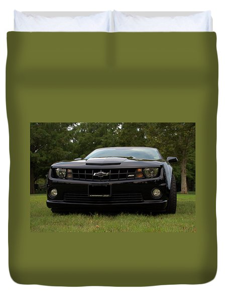 2010 Camaro Ss Duvet Cover by Tim McCullough